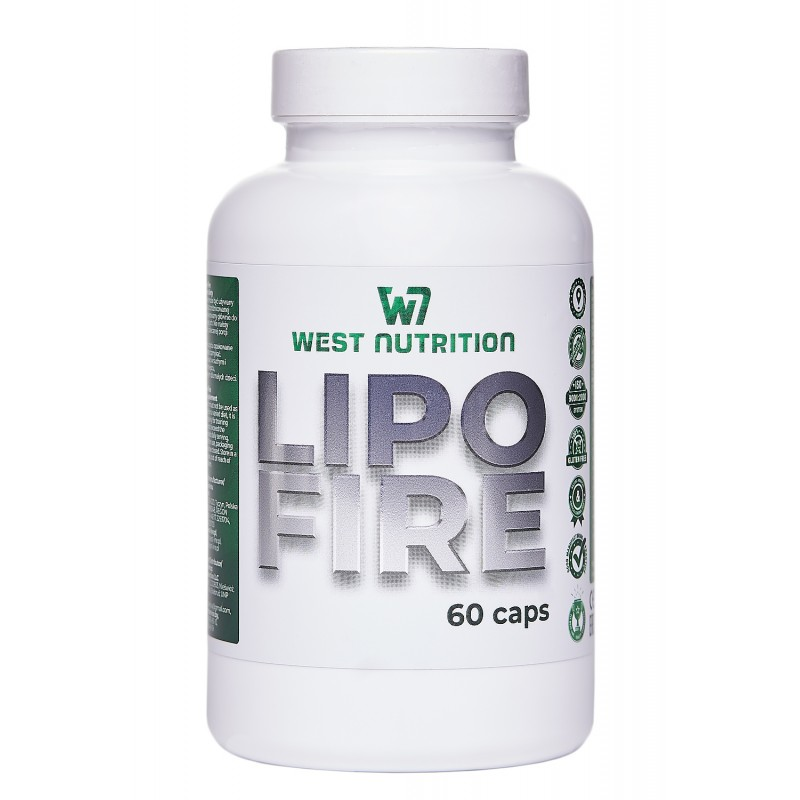 West Nutrition    Lipo Fire caps